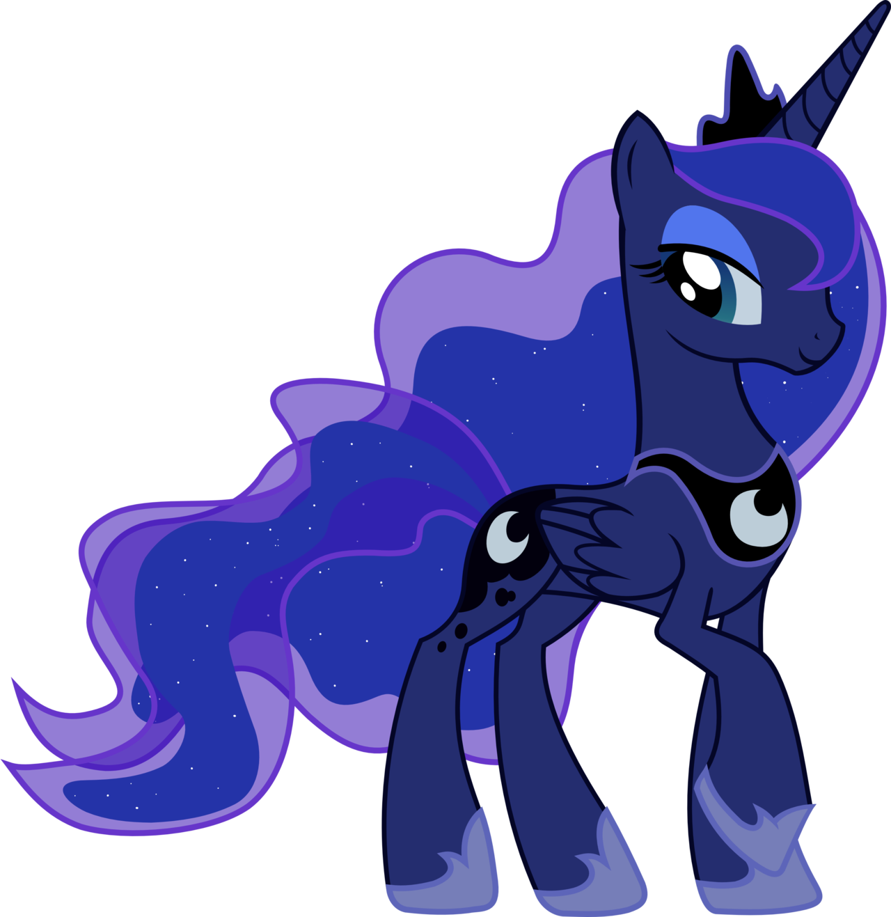 image fanmade princess luna transparent backgroundpng my little pony friendship is magic wiki fandom powered by wikia