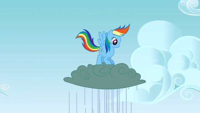 File:Rainbow Dash jumping up and down on a cloud S3E8.png