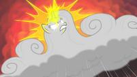 Rarity-cloud using her magic S4E19