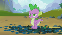 Spike isn't convinced S03E09
