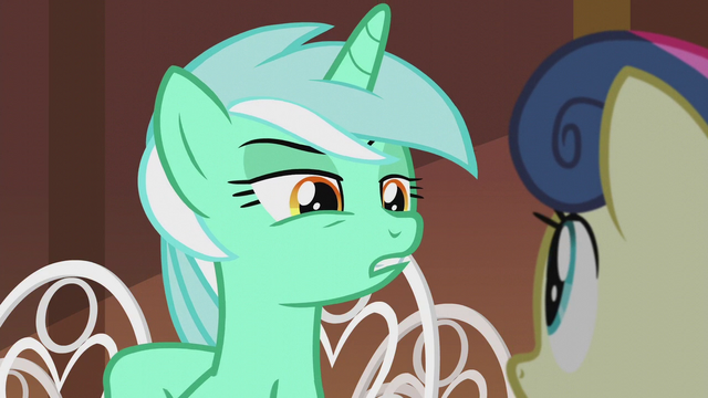 "File:Lyra ""you know those expensive imported oats"" S5E9.png"