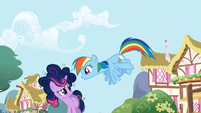 Rainbow Dash talks to Twilight S1E01