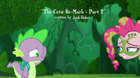 Pinkie backs away from Spike S5E26