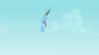 Rainbow Dash flying 2 S2E07