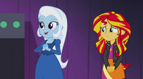 Trixie notices Celestia and Luna EG2