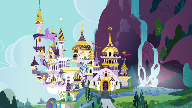File:Twilight flies to Canterlot S4E25.png