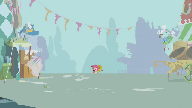 File:Pinkie Pie playing music in the distance S1E10.png