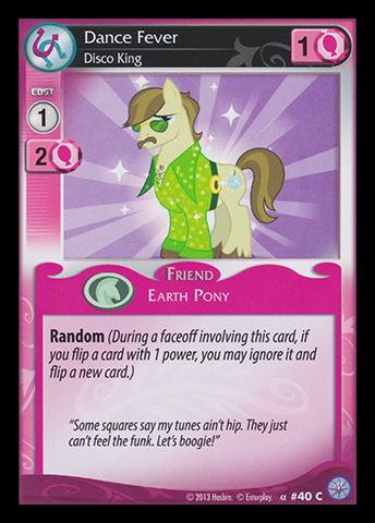 File:Dance Fever, Disco King card MLP CCG.jpg