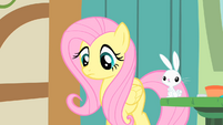 Fluttershy looks down S1E22