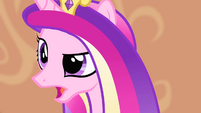 Cadance 'you were in no condition to travel' S4E11