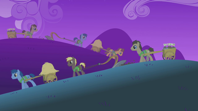 File:Ponies working in the fields at nighttime S01E11.png