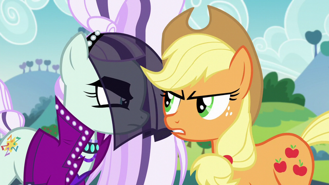 "File:Applejack ""can't see when somepony's usin' her"" S5E24.png"
