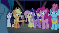 "Applejack ""you can thank Pinkie Pie"" S6E15"