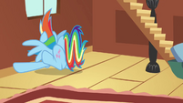 Rainbow Dash slams into wall S03E13
