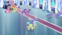 Royal guards follow after Thorax S6E16