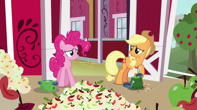"File:Applejack ""sorry, Pinkie"" S5E24.png"
