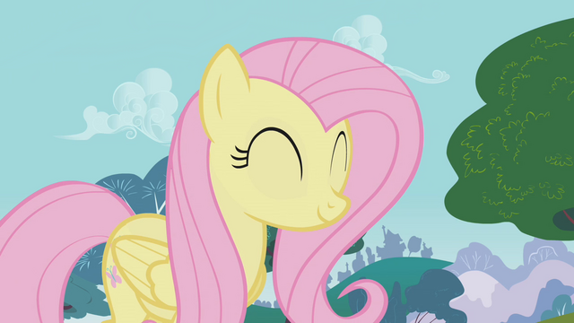 File:FANMADE Fluttershy in Dragonshy.png