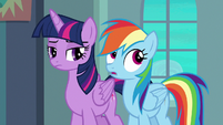 Rainbow Dash rolling her eyes S6E24