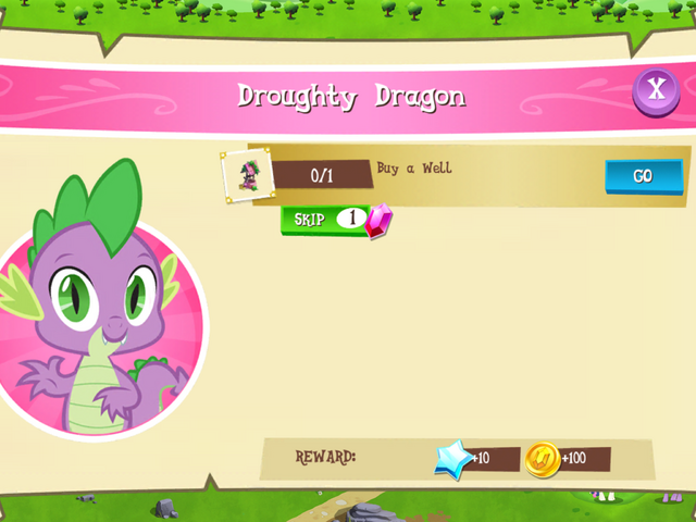File:Droughty Dragon objectives MLP Game.png