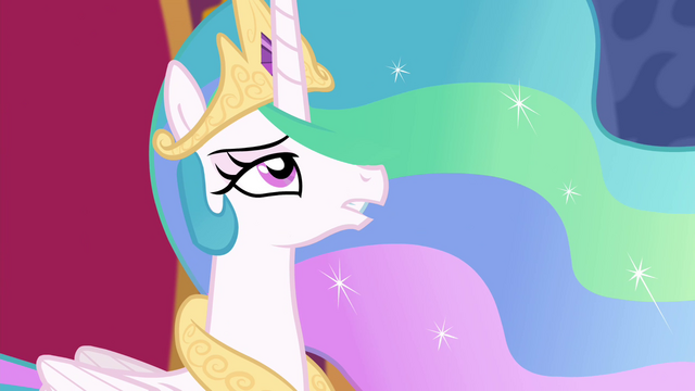 "File:Princess Celestia ""there is one solution"" S4E25.png"