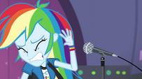 Rainbow hears too loud EG2