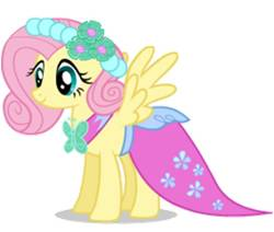 Fluttershy bridesmaid promotional