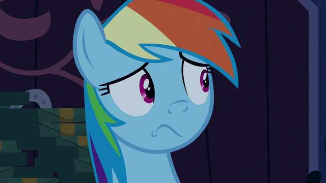 File:Rainbow Dash still in shock S6E15.png