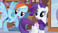 Rarity nearly forgot S3E11