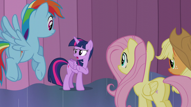 "File:Twilight ""you should probably tell the crowd outside"" S6E2.png"