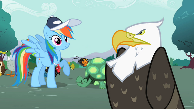 "File:Rainbow Dash ""That's the cool sound"" S2E07.png"