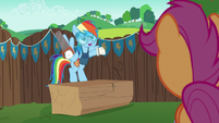 "Rainbow Dash ""might as well get there first"" S6E14"
