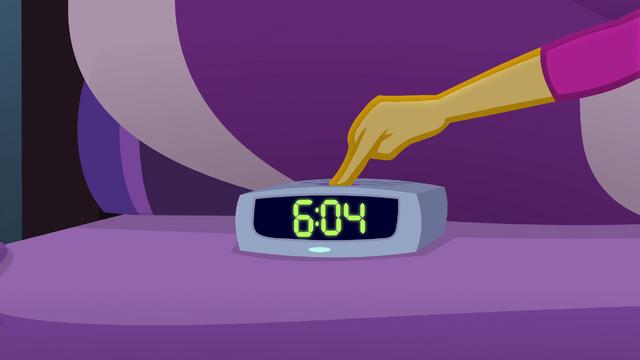 File:Sunset presses snooze button on Twilight's alarm EG4.png