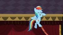 Rainbow does her little dance again S5E15