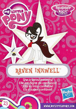 Wave 18 Raven Inkwell collector card