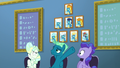 Sky Stinger pointing to wall of Wonderbolts S6E24.png