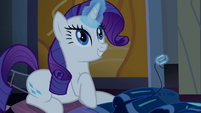 "Rarity ""what a splendid idea"" S4E03"
