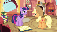 Twilight maybe a little S3E9