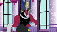 Tirek taking off his medallion S4E26