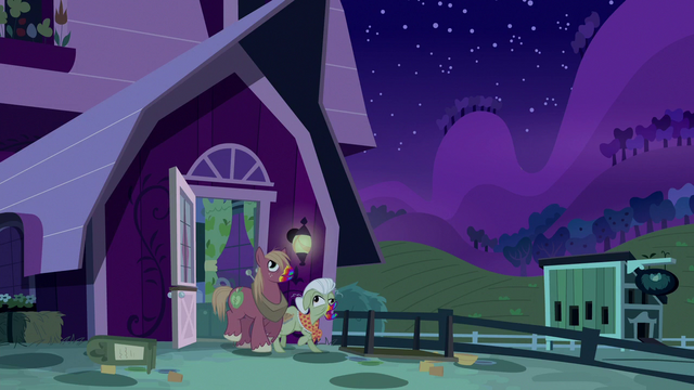File:Zombie Big Mac and Granny lumber outside S6E15.png