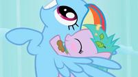 Aura blushing S02E08