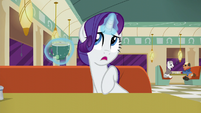 "Rarity ""Although he can be pushy at times"" S6E9"