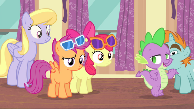 """File:Spike """"I'll get you some punch"""" S4E19.png"""