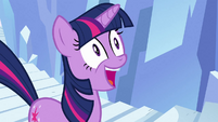 Twilight ecstatic smile S3E2