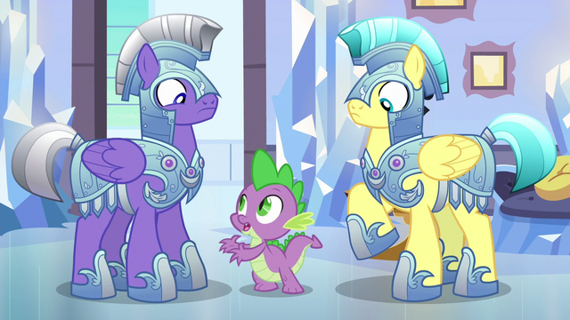 "File:Spike ""The changeling is nice"" S6E16.png"