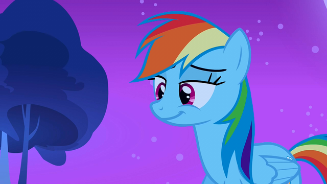 File:Rainbow Dash smiling S3E6.png