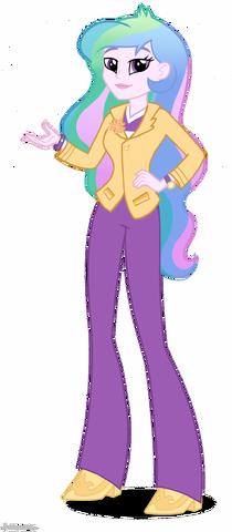 File:Equestria Girls Principal Celestia artwork.png