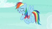 "Rainbow Dash ""you still flew rings around me"" S6E18"