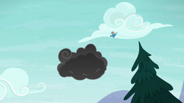 File:Rainbow flies straight toward the storm cloud S6E7.png