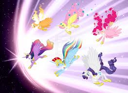 File:FANMADE Mane 6 Alicorns.jpg