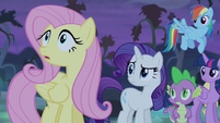 "Fluttershy ""really really hungry"" S4E07"